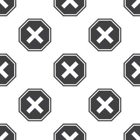 prohibition: prohibition sign icon on white background for web