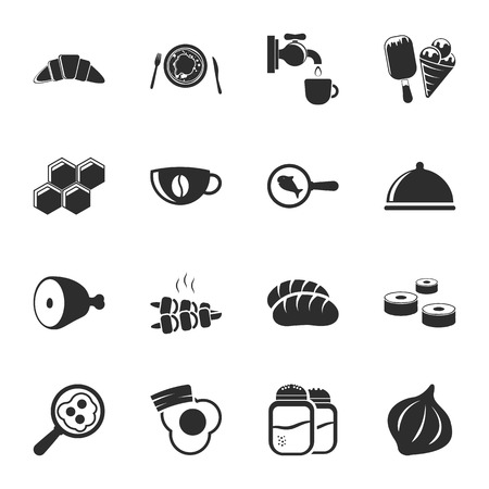 16: food 16 icons universal set for web and mobile flat