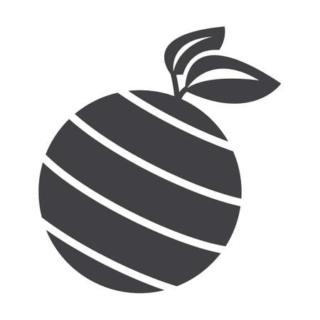 planet black simple icon on white background for web design Illustration