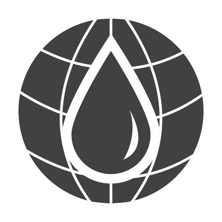 planeten: Planet schwarz einfache Symbol auf weißem Hintergrund für Web-Design