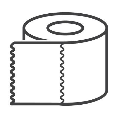 bionomics: bumf black simple icon on white background for web design Illustration