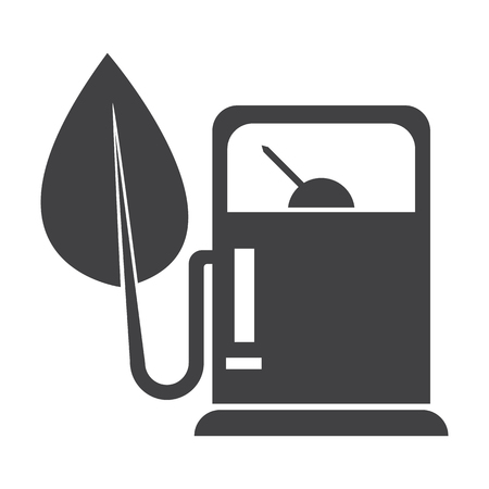 dosage: refuelling black simple icon on white background for web design