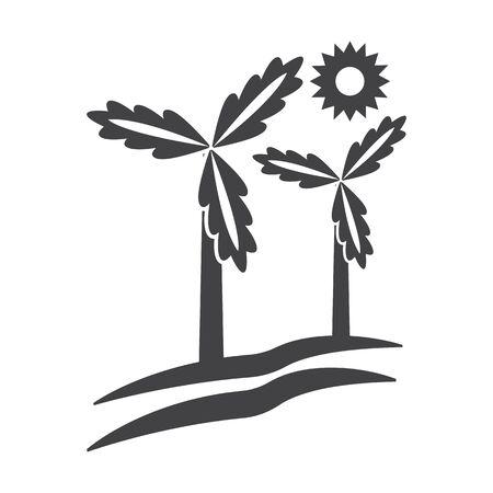 bionomics: wind generator black simple icon on white background for web design Illustration