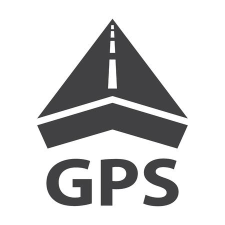 GPS zwart set voor webdesign eenvoudige pictogrammen