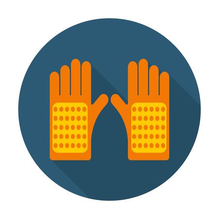 ?  ?      ?  ?     ?  ?    ?  ? gloves: guantes icono plana con una larga sombra para el diseño web