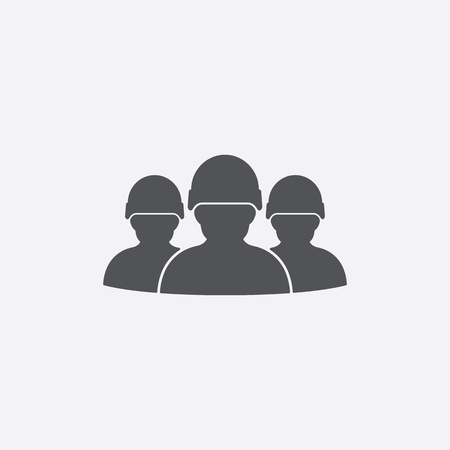squad: Squad icon of vector illustration for web and mobile design