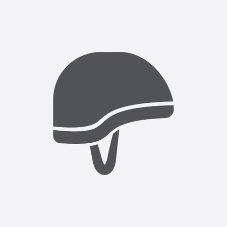 military helmet: Helmet icon of vector illustration for web and mobile design