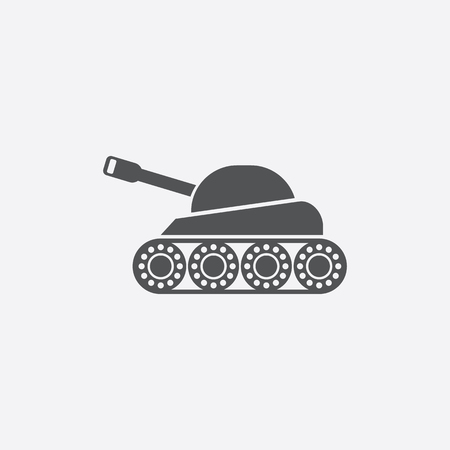 army tank: Tank icon of vector illustration for web and mobile design