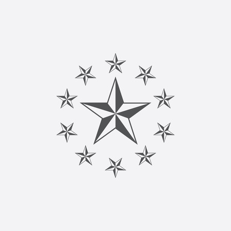 epaulettes: General icon of vector illustration for web and mobile design