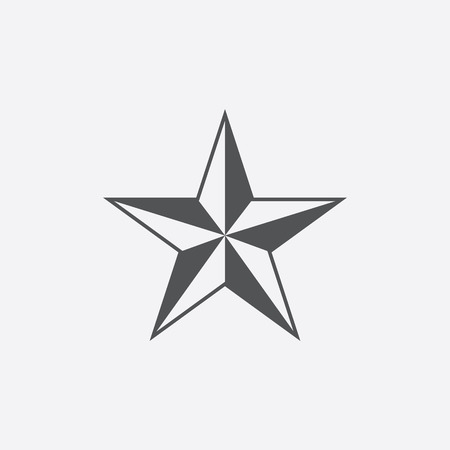 merit: Brigadier general icon of vector illustration for web and mobile design