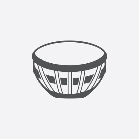 mallet: Timpani icon of vector illustration for web and mobile design