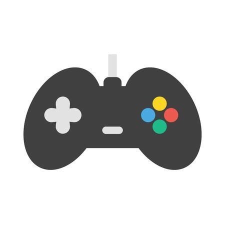 gamepad: Gamepad vector icon illustrator for web design Illustration