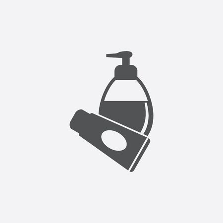 antiseptic: Antiseptic icon of vector illustration for web and mobile design