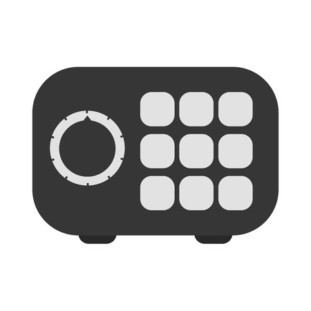strongbox: Strongbox vector icon illustrator for web design