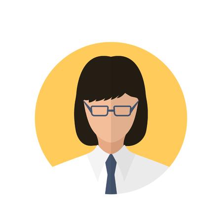 callcenter: Operator icon of vector illustration for web and mobile design Illustration