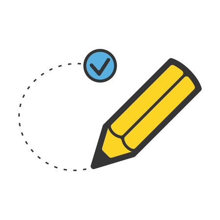 define: Goal flat icon. Illustration for web and mobile.