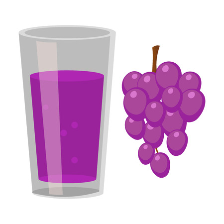 grape juice: Grape juice icon of vector illustration for web and mobile design