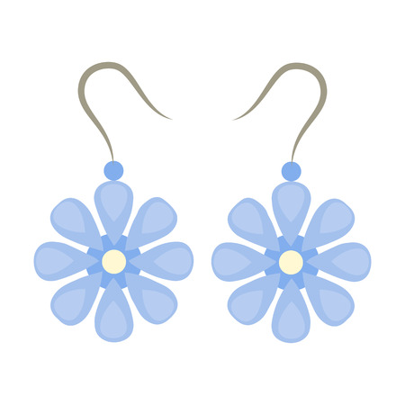 earrings: Earrings icon of vector illustration for web and mobile design
