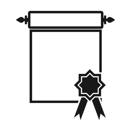 charter: Charter icon of vector illustration for web and mobile design Illustration