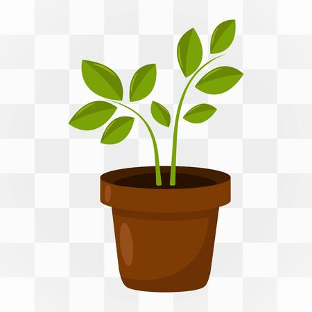 Plant icon cartoon. One icon of a large farm, gardening collection.
