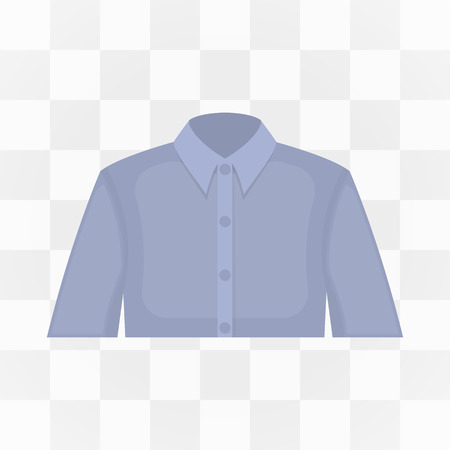 long sleeve shirt: Long sleeve shirt icon cartoon. One icon of a large tailoring collection. Illustration