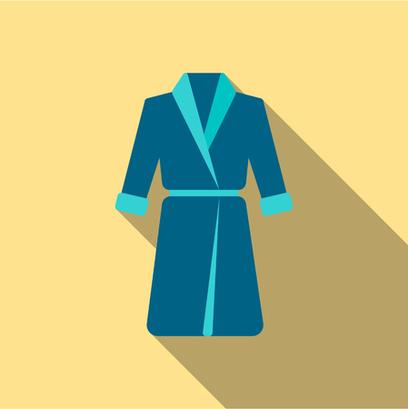 housecoat: Bathrobe icon of vector illustration for web and mobile design