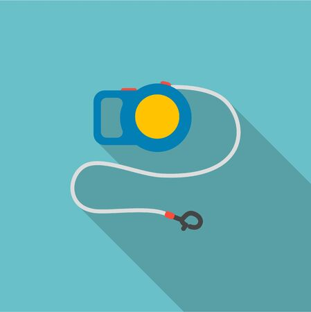 gripping: Pet lead icon of vector illustration for web and mobile design