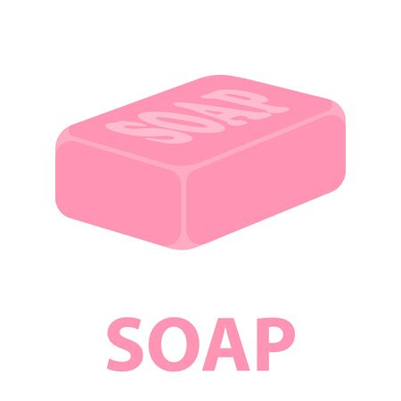 Soap cartoon icon. Illustration for web and mobile.