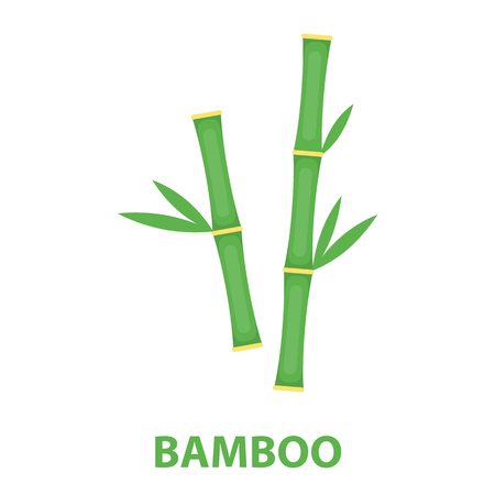 Bamboo icon of vector illustration for web and mobile design