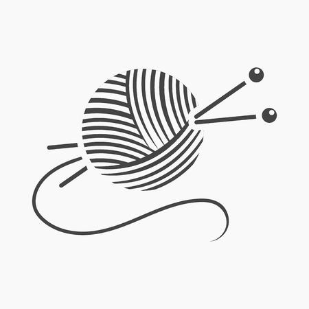Fils et aiguilles icône illustration vectorielle pour la conception web et mobiles
