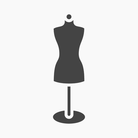 seamstress: Dummy icon of vector illustration for web and mobile design