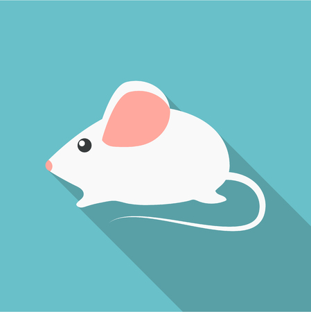 house mouse: House mouse icon of vector illustration for web and mobile design
