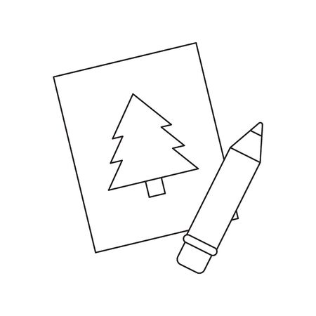 depiction: Picture line icon. Illustration for web and mobile.