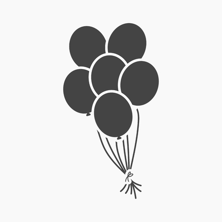 simple: Balloon icon simple.