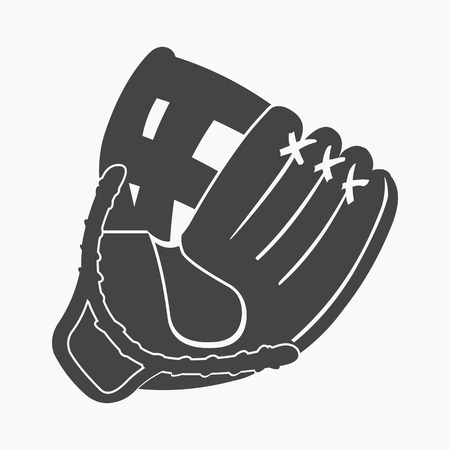 Baseball glove icon cartoon. Single sport icon from the big fitness, healthy, workout collection.
