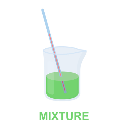 litre: Mixture icon cartoon. Single medicine icon from the big medical, healthcare collection.