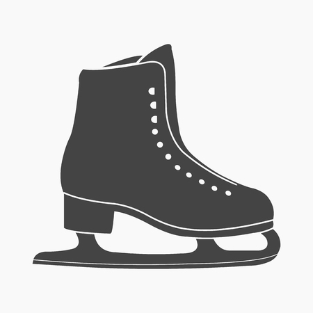 figureskating: Skates icon cartoon. Single sport icon from the big fitness, healthy, workout collection.