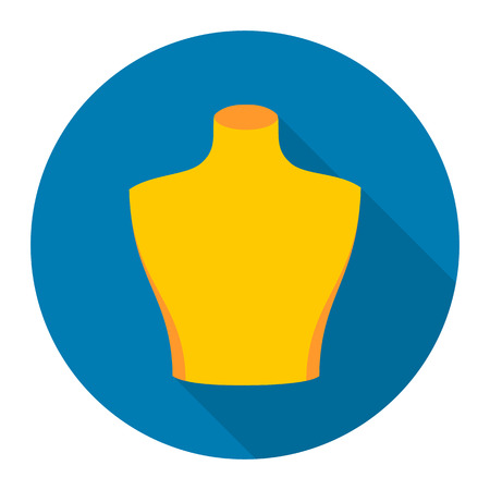 seamstress: Dummy icon of rastr illustration for web and mobile design