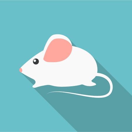 house mouse: House mouse icon of rastr illustration for web and mobile design