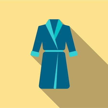 housecoat: Bathrobe icon of rastr illustration for web and mobile design Stock Photo