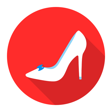 engagement party: Brides shoes icon of rastr illustration for web and mobile design