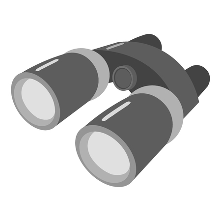 Binoculars icon of vector illustration for web and mobile design