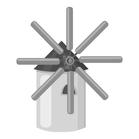 wind mills: Mill icon of vector illustration for web and mobile design