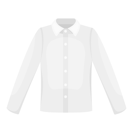 long sleeve shirt: Long sleeve shirt icon of vector illustration for web and mobile design