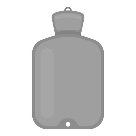 warmer: Warmer icon monochrome. Single medicine icon from the big medical, healthcare monochrome. Illustration