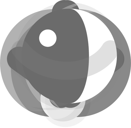 wobbly: Roly Poly monochrome icon. Illustration for web and mobile.