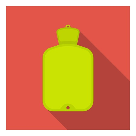 warmer: Warmer icon in flat style isolated on white background. Medicine and hospital symbol vector illustration. Illustration