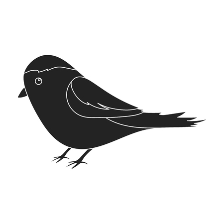 twit: Parus icon in black style isolated on white background. Park symbol stock vector illustration. Illustration