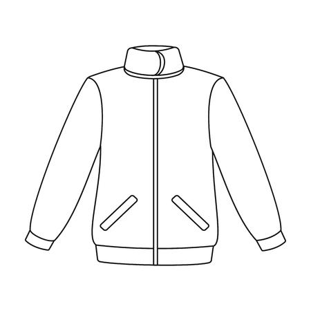 Jacket icon of illustration for web and mobile design Illustration