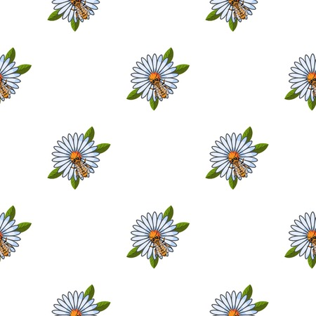 dipper: Honey dipper icon in pattern style isolated on white background. Apiary symbol vector illustration